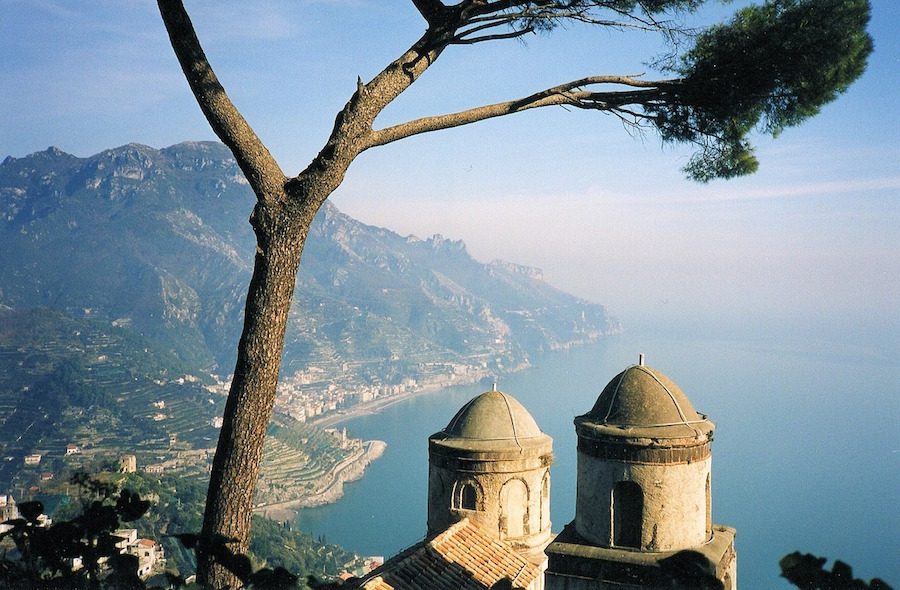 Ravello Amalfi Italy sea view