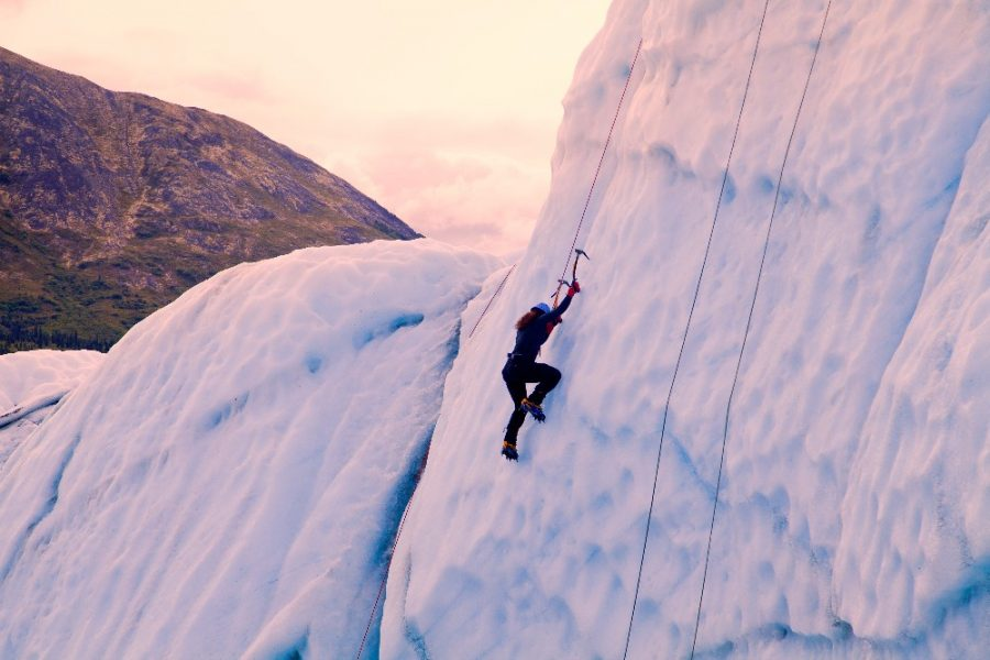 extreme sports travel ice climbing